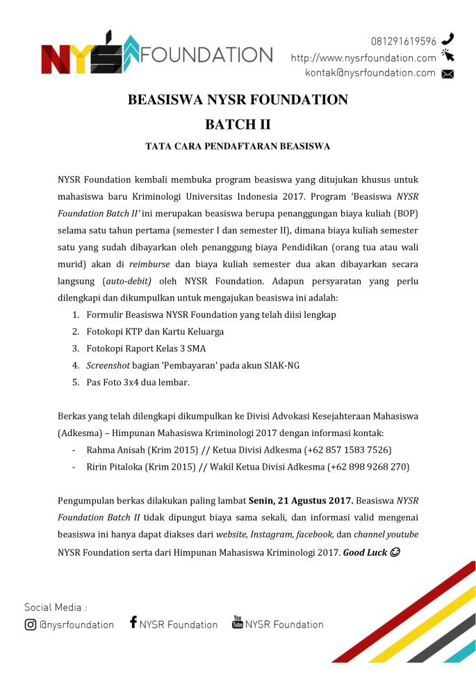 Beasiswa NYSR Foundation Batch II-page-001